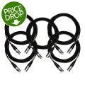 Mogami CorePlus Microphone Cable 5-pack - 25' XLR-XLR