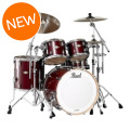 Pearl Master MCX 4 piece Shell Pack - Wine RedMaster MCX 4 piece Shell Pack - Wine Red