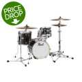 Pearl Midtown Complete Drumset Package - Black Gold Sparkle