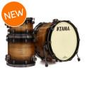 Tama Starclassic Maple Exotix 3-piece Shell Pack - Exotix Pacific Walnut
