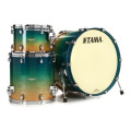 Tama Starclassic Maple Exotix Nashville Shell Pack - 3-piece - Figured Caribbean Blue Fade