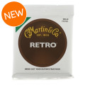 Martin Retro Acoustic Guitar Strings - .010-.047 Extra Light