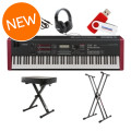 Yamaha MOXF8 88-key Essential Keyboard BundleMOXF8 88-key Essential Keyboard Bundle