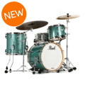 Pearl Music City Custom Masters Maple Reserve Shell Pack - 3-piece Bop - Turquoise Glass
