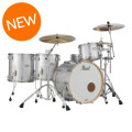 Pearl Music City Custom Masters Maple Reserve Shell Pack - 4-piece - Classic Silver Sparkle