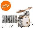 Pearl Music City Custom Masters Maple Reserve Shell Pack - 5-piece - Mirror Chrome