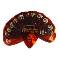 Martin Faux-tortoise #1 Guitar Picks 12 Pack - 0.73mm, Medium
