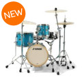 Sonor Martini Special Edition Shell Pack - Turquoise Galaxy Sparkle