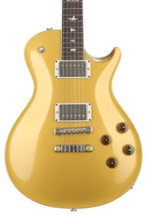 PRS McCarty Singlecut 594 - Gold Top with Pattern Vintage Neck