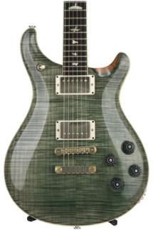 PRS McCarty 594 10-Top - Trampas Green, Nickel Hardware with Pattern Vintage Neck