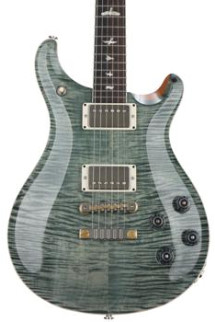PRS McCarty 594 Figured Top - Trampas Green with Pattern Vintage Neck