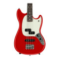 Fender Mustang PJ Bass - Torino Red with Rosewood Fingerboard