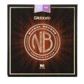 D'Addario NB1152 Nickel Bronze Acoustic Strings .011-.052 Custom Light