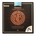D'Addario NB1253 Nickel Bronze Acoustic Strings Light Top/Med Bottom with Artist Capo BundleNB1253 Nickel Bronze Acoustic Strings Light Top/Med Bottom with Artist Capo Bundle