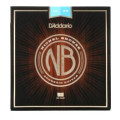 D'Addario NB1253 Nickel Bronze Acoustic Strings .012-.053 Light Top/Med Bottom