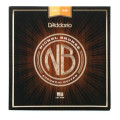 D'Addario NB1256 Nickel Bronze Acoustic Strings .012-.056 Light Top/Heavy Bottom