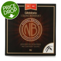 D'Addario NB1356 Nickel Bronze Acoustic Strings Medium Set with Artist Capo BundleNB1356 Nickel Bronze Acoustic Strings Medium Set with Artist Capo Bundle