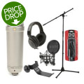 Rode NT1-A Vocalist Package with HD200 Pro Headphones
