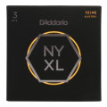 D'Addario NYXL1046 Nickel Wound Electric Strings 3-Pack .010-.046 Regular Light 3-Pack