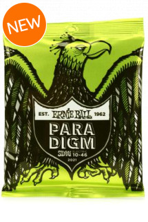 Ernie Ball Paradigm Electric Guitar Strings .010-.046 Regular Slinky