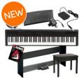 Yamaha P-115 Deluxe Keyboard Bundle - BlackP-115 Deluxe Keyboard Bundle - Black