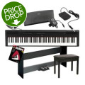 Yamaha P-115 Deluxe Keyboard Bundle - BlackP-115 Deluxe Keyboard Bundle - Black