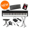 Yamaha P-115 Essential Keyboard Bundle - BlackP-115 Essential Keyboard Bundle - Black