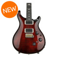 PRS P24 Figured Top - Fire Red Burst with Pattern Regular NeckP24 Figured Top - Fire Red Burst with Pattern Regular Neck