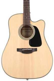 Takamine P2DC Dreadnought Acoustic/Electric w/Cutaway, Natural
