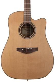 Takamine P3DC Dreadnought Acoustic/Electric w/Cutaway, Natural