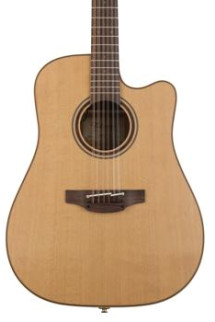 Takamine P3DC 12-String Dreadnought A/E w/Cutaway, Natural