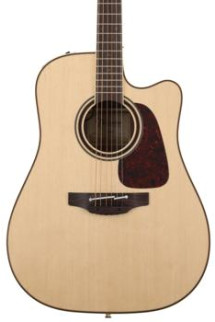 Takamine P4DC Dreadnought Acoustic/Electric w/Cutaway, Natural