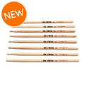 Vic Firth American Classic 4 for 3 Drumstick Value Pack - 5B - Wood TipAmerican Classic 4 for 3 Drumstick Value Pack - 5B - Wood Tip