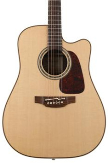 Takamine P5DC Pro Series Dreadnought Acoustic/Electric w/Cutaway, Natural