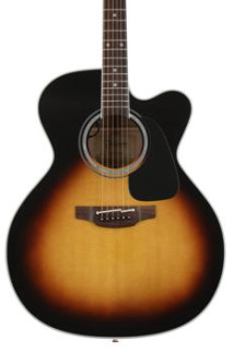 Takamine P6JC Jumbo Acoustic/Electric w/Cutaway, Gloss Sunburst
