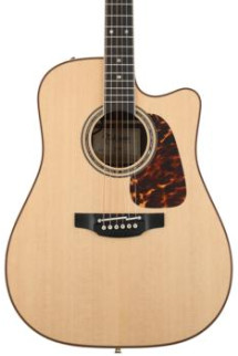 Takamine P7DC Dreadnought Acoustic/Electric w/Cutaway, Natural
