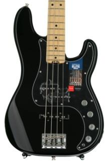 Fender American Elite Precision Bass - Black, Maple Fingerboard