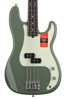 Fender American Professional Precision Bass - Antique Olive with Rosewood Fingerboard