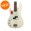 Fender American Professional Precision Bass, Left-handed - Olympic White with Rosewood FingerboardAmerican Professional Precision Bass, Left-handed - Olympic White with Rosewood Fingerboard