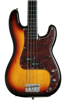Squier Vintage Modified P Bass FL - 3-Color Sunburst