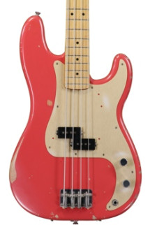 Fender Road Worn '50s Precision Bass - Fiesta Red