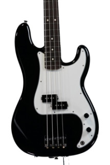Fender Standard Precision Bass - Black with Rosewood Fingerboard