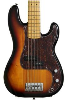Squier Vintage Modified P Bass V - 3-Color Sunburst