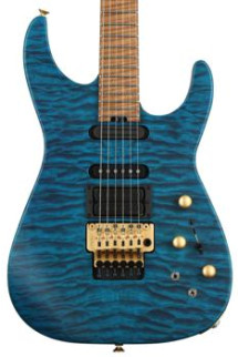 Jackson USA Signature Phil Collen PC1 - Satin Trans Blue