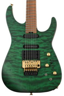 Jackson USA Signature Phil Collen PC1 - Satin Trans Green