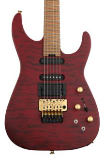 Jackson USA Signature Phil Collen PC1 - Satin Trans Red
