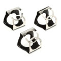 Ahead PinchClip Cymbal Clip - 3-pack, Black