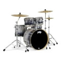 PDP Concept Maple Shell Pack - 5-piece - Silver To Black Sparkle FadeConcept Maple Shell Pack - 5-piece - Silver To Black Sparkle Fade