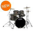 PDP Mainstage 5-piece Drum Set with Hardware & Paiste Cymbals - Bronze MetallicMainstage 5-piece Drum Set with Hardware & Paiste Cymbals - Bronze Metallic