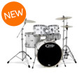 PDP Mainstage 5-piece Drum Set with Hardware & Paiste Cymbals - Gloss WhiteMainstage 5-piece Drum Set with Hardware & Paiste Cymbals - Gloss White